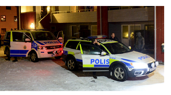 Swedish neo-Nazis held in refugee centre attack