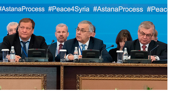 Experts meet in Kazakhstan to discuss Syria cease-fire