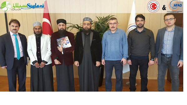 Pakistani charity arrives in Turkey for aid relief
