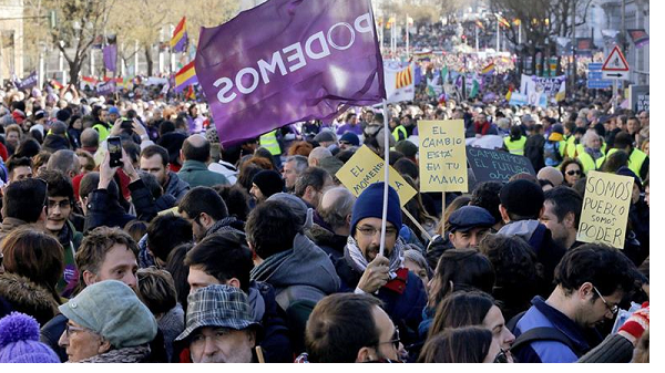 Spain's Podemos gears up for decisive, heated congress