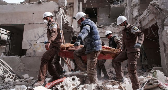 Assad regime intensifies attacks on Eastern Ghouta