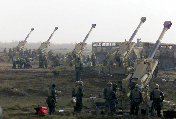 US Marines deploy artillery battery to Syria