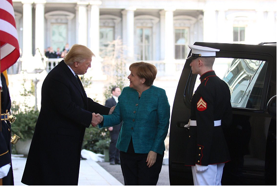 Germany's Merkel to visit Trump later this month