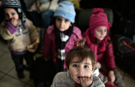Turkey urges world to play its part for Syrian children