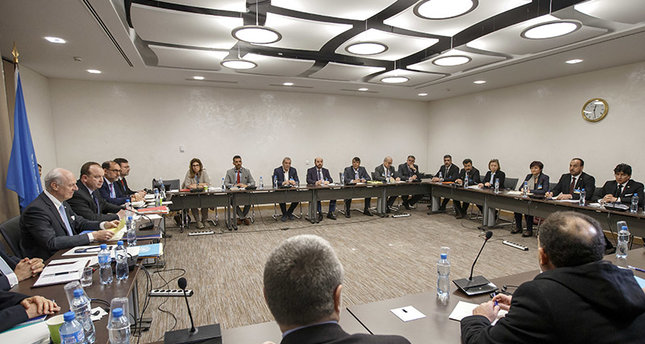 Syria support conference begins in Brussels