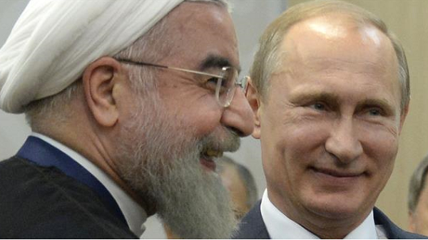 Rouhani in Moscow: 'US abetting terrorists in Syria'
