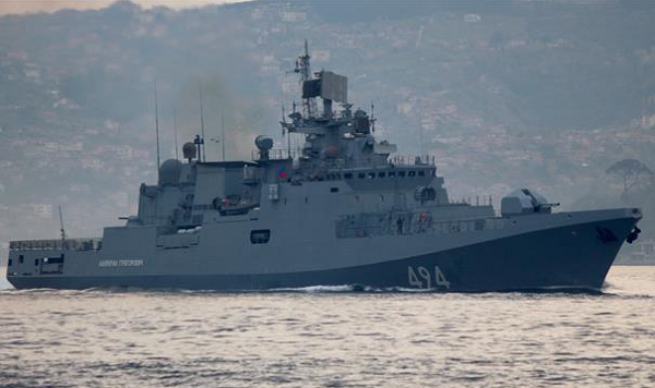 Russia deploys missile-armed ship to Syria