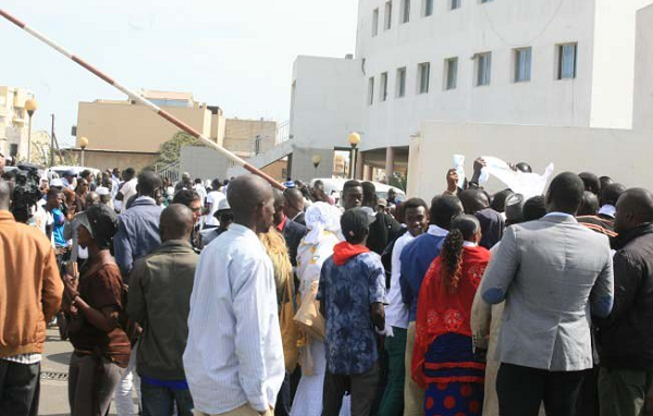 Thousands protest in Senegal against President Sall