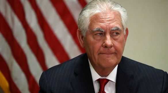 Iran protests against Tillerson 'transition' remarks