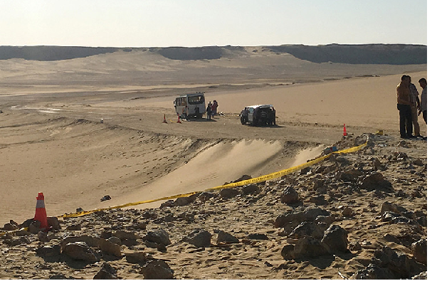 Previously unknown group claims Egypt oasis attack