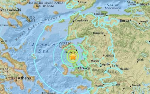Greek island picks up the pieces after 6.3-magnitude quake