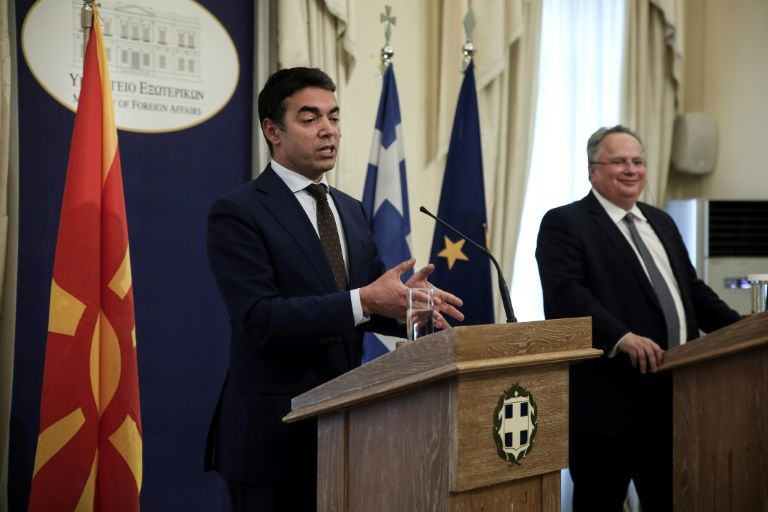 Greece, Macedonia resume troubled talks on name row