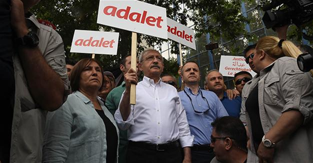 Turkish opposition leader launches 'justice' march