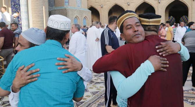 Muslims across Arab world celebrate Eid al-Fitr holiday