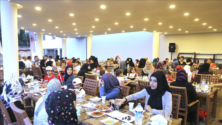 Community center for Syrians opened in Turkey's Adana