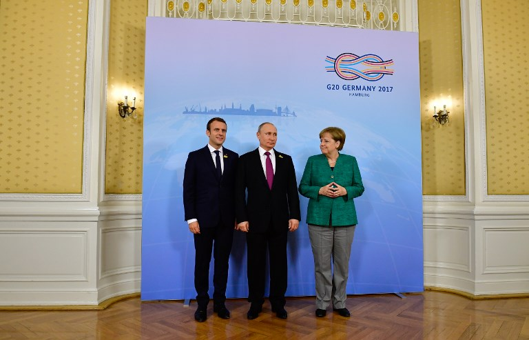 Leaders of Russia, Ukraine, France, Germany to talk Monday