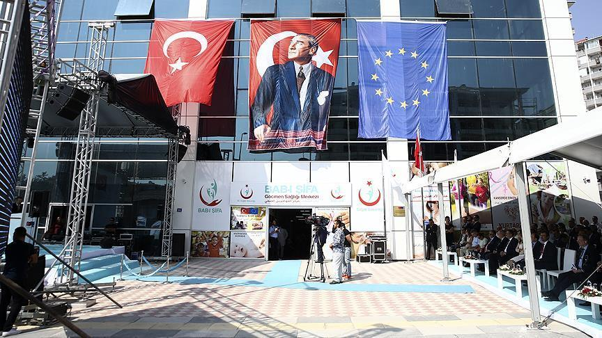 Migrant health center opens in Ankara funded by EU