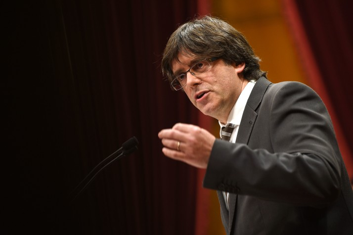 Catalan leader hints declaration of independence