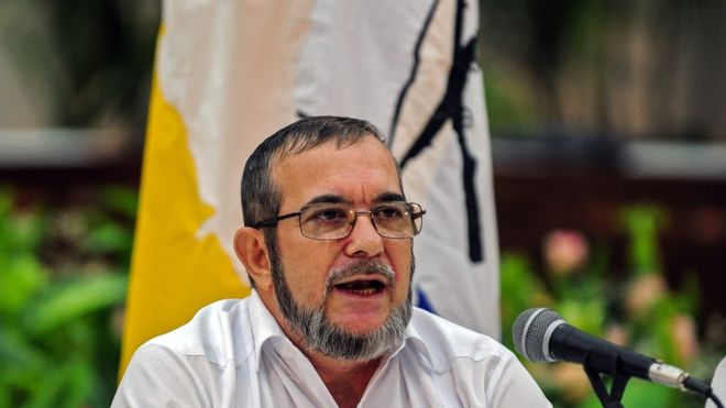 FARC's Timochenko to run for Colombia presidency