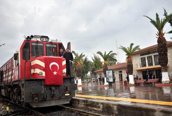 Baku-Tbilisi-Kars train completes first trip