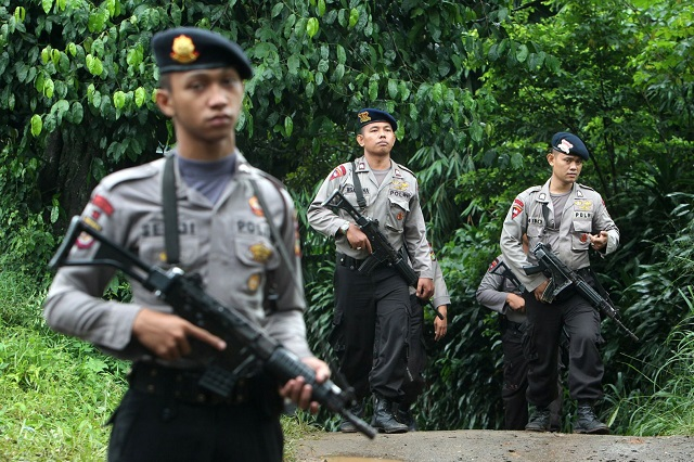 Armed group kills policeman in Indonesia's Papua