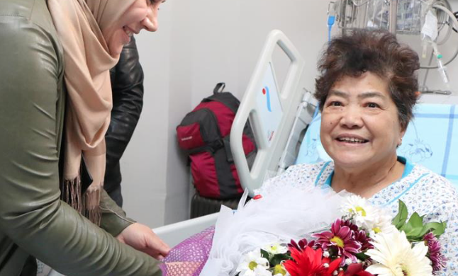 Chinese tourist thanks Turkey for post-surgery care