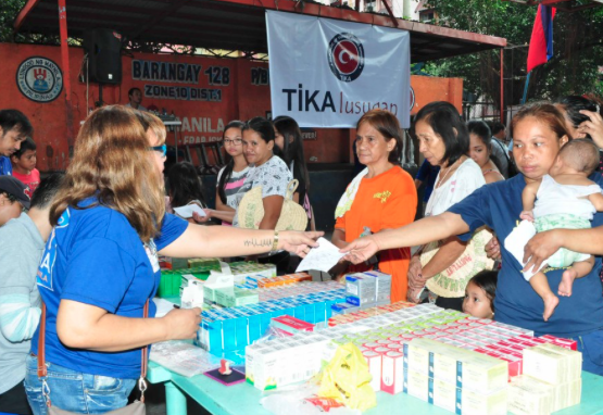 Turkey strengthens aid programs in the Philippines