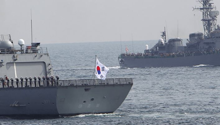 S.Korea, U.S., Japan conduct anti-N.Korea drill
