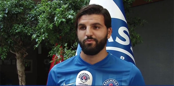 Tunisian footballer says he is 'lucky' to be in Turkey