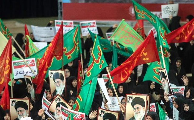 Who is stirring up trouble in Iran?