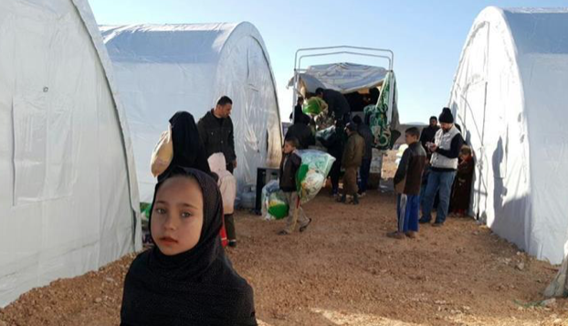 Turkey's Diyanet sets up 1,000 tents for Syrians