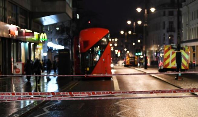 Hotel evacuated, stations closed after London gas leak