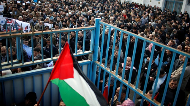 Martyred Palestinian laid to rest in Gaza