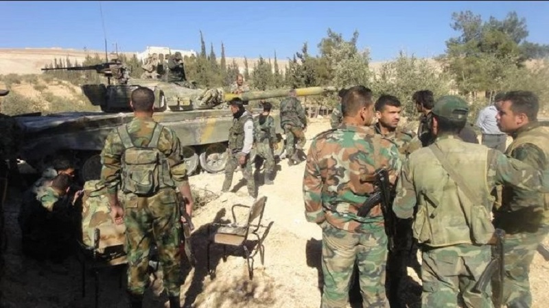 Turkish soldiers, Free Syrian Army liberate village
