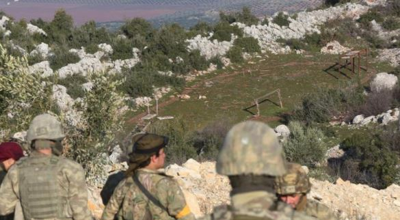 Turkish army conducts 9th round of patrols in Manbij