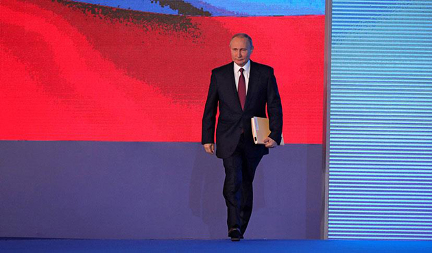 Putin says Russian naval forces to patrol off Syria