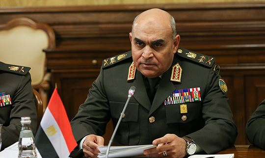 Egypt defense minister receives US delegation in Cairo