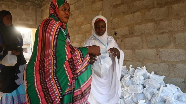 Turkish energy company gives food aid in Gambia