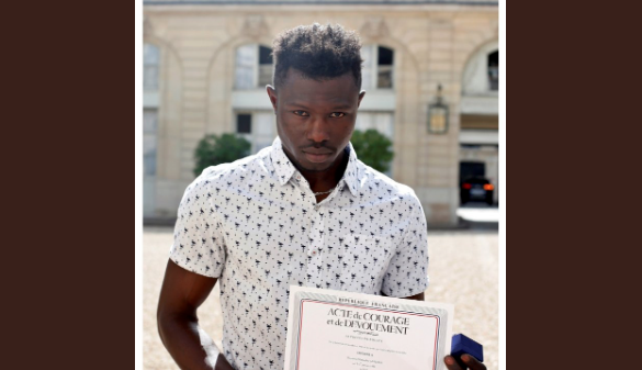 The Muslim HERO of recent France