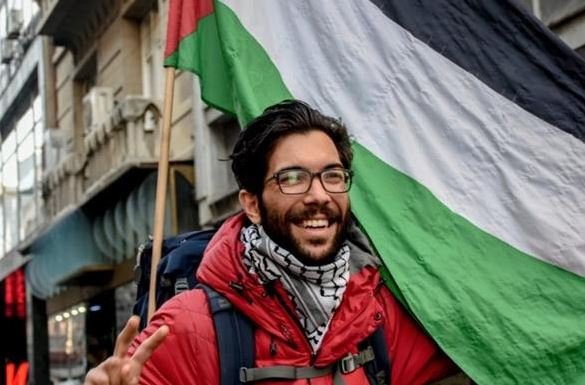 Swedish activist granted Palestinian citizenship