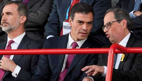 Spanish PM meets Catalan president to defuse tensions