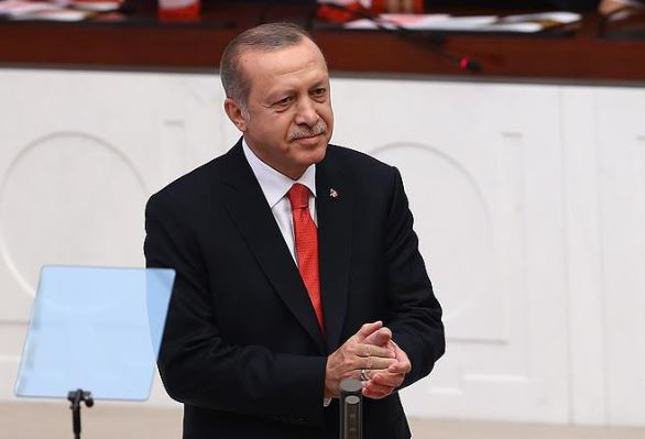 Erdogan sworn in as Turkey's first executive President