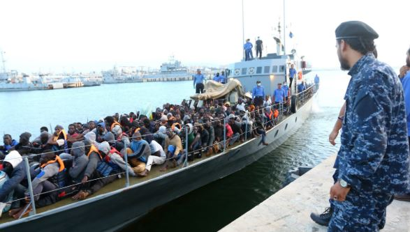 104 migrants rescued off Libyan coast