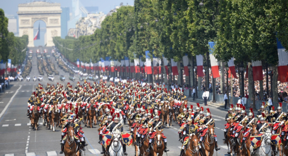 France marks Bastille Day with major military parade