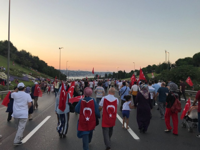 Turkey's defeated coup bid marked across world