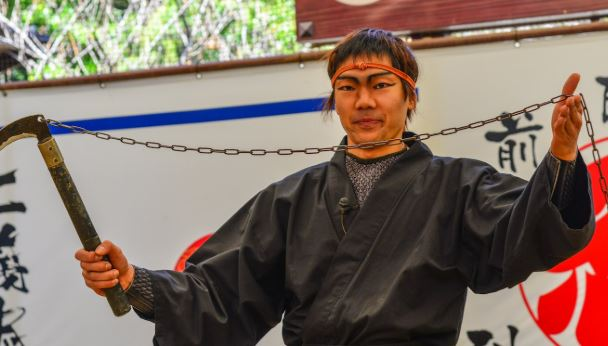 Japanese population is running out of ninjas