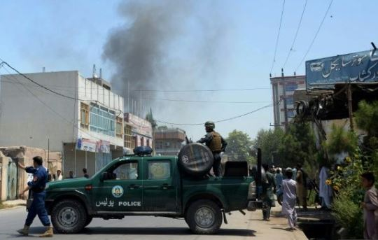 Suicide bomb attack kills two in eastern Afghanistan