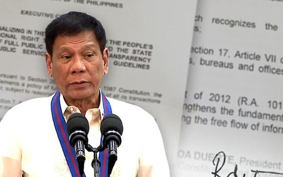 Philippines Duterte signs National ID system into law