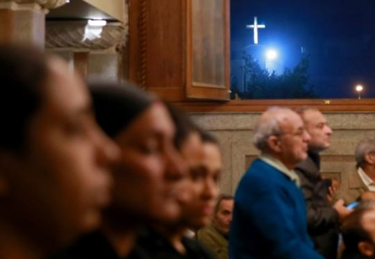 Egypt Copts commemorate Virgin Mary amid tight security