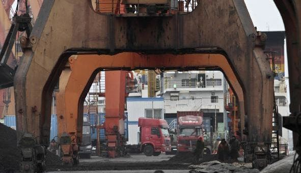 S. Korea firms caught importing coal, iron from North